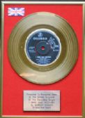 "SHIRLEY BASSEY-24 Carat Gold 7""Disc- I WHO HAVE NOTHING"